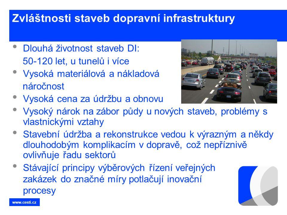 Zvláštnosti staveb dopravní infrastruktury