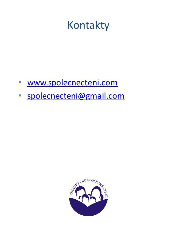 Kontakty www.spolecnecteni.com spolecnecteni@gmail.com