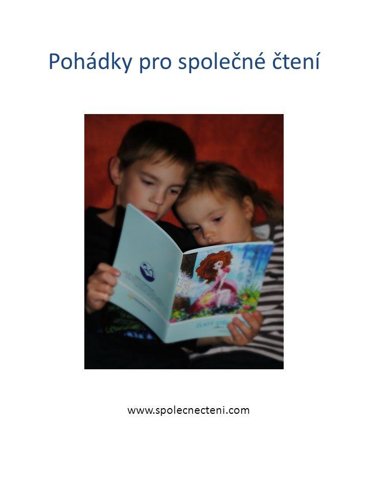 Pohádky pro společné čtení