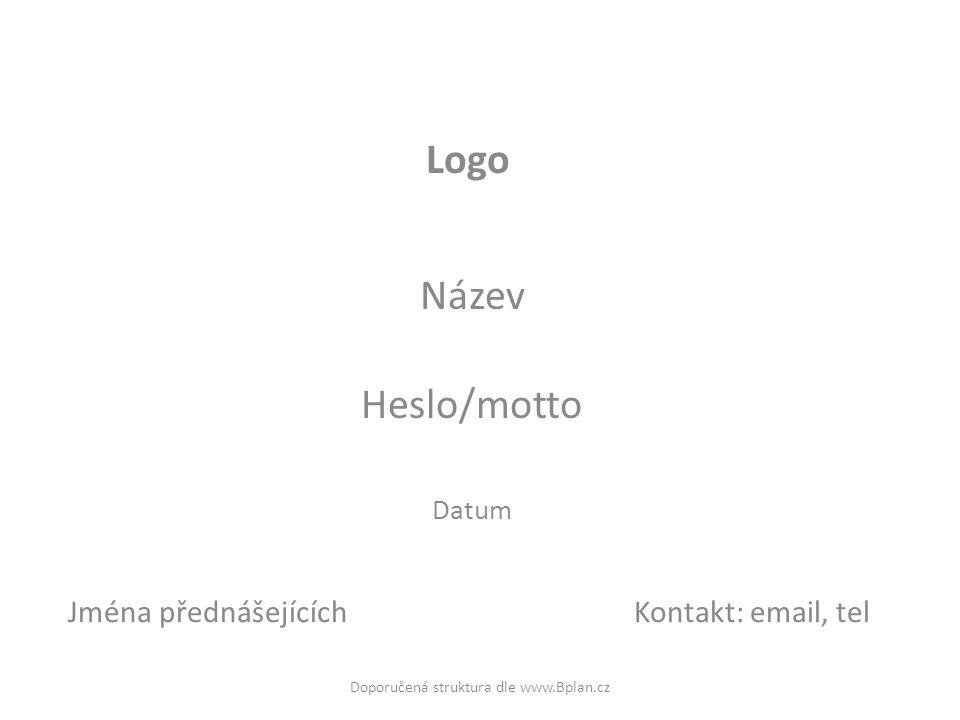 Název Heslo/motto Datum