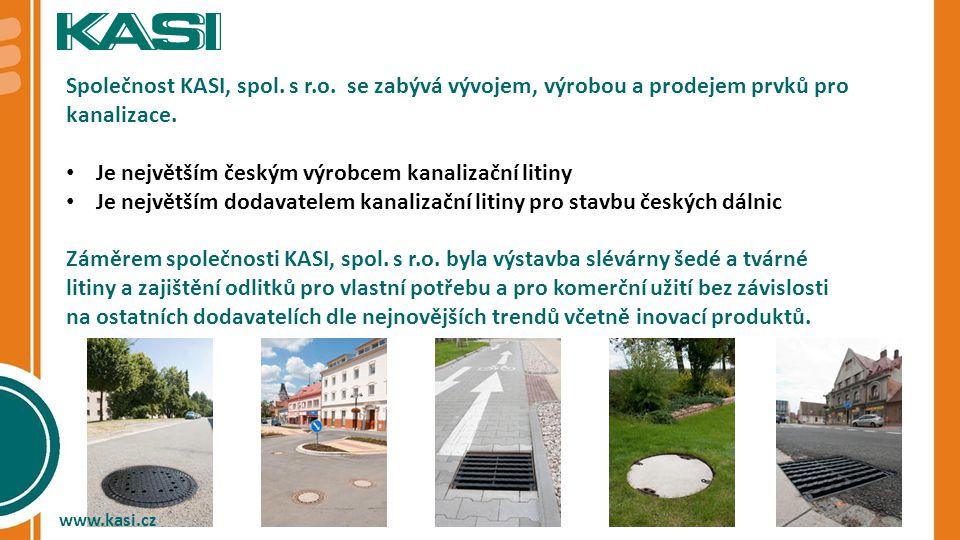 Je největším českým výrobcem kanalizační litiny