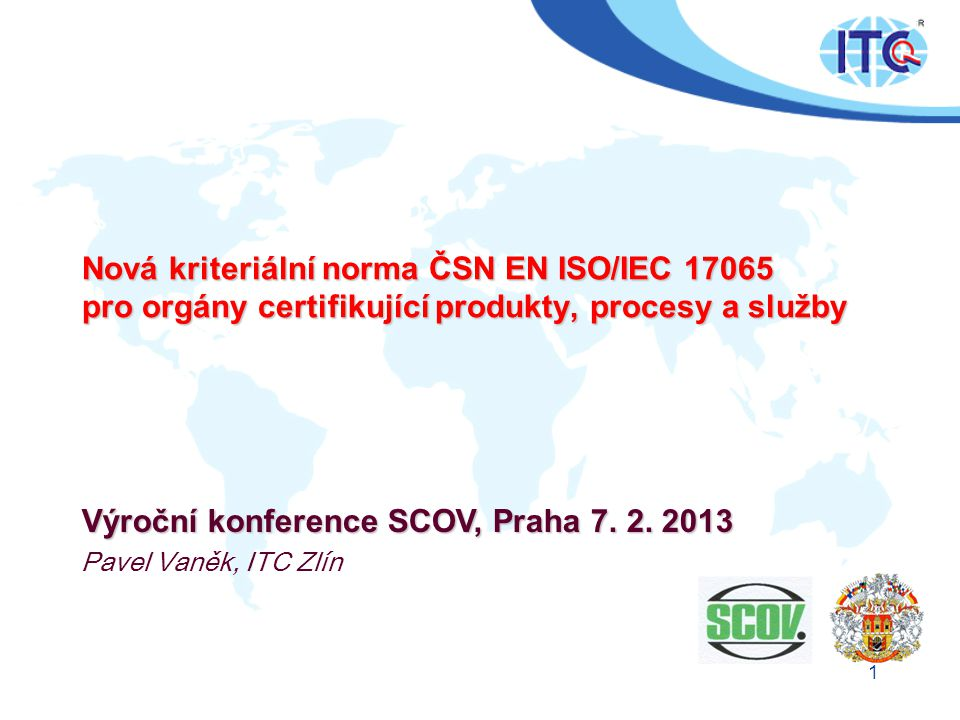 Výroční konference SCOV, Praha 7. 2. 2013