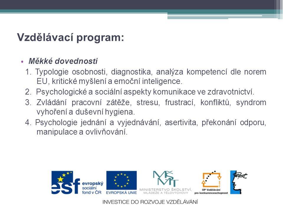 Vzdělávací program: Měkké dovednosti