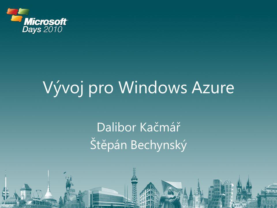 Vývoj pro Windows Azure
