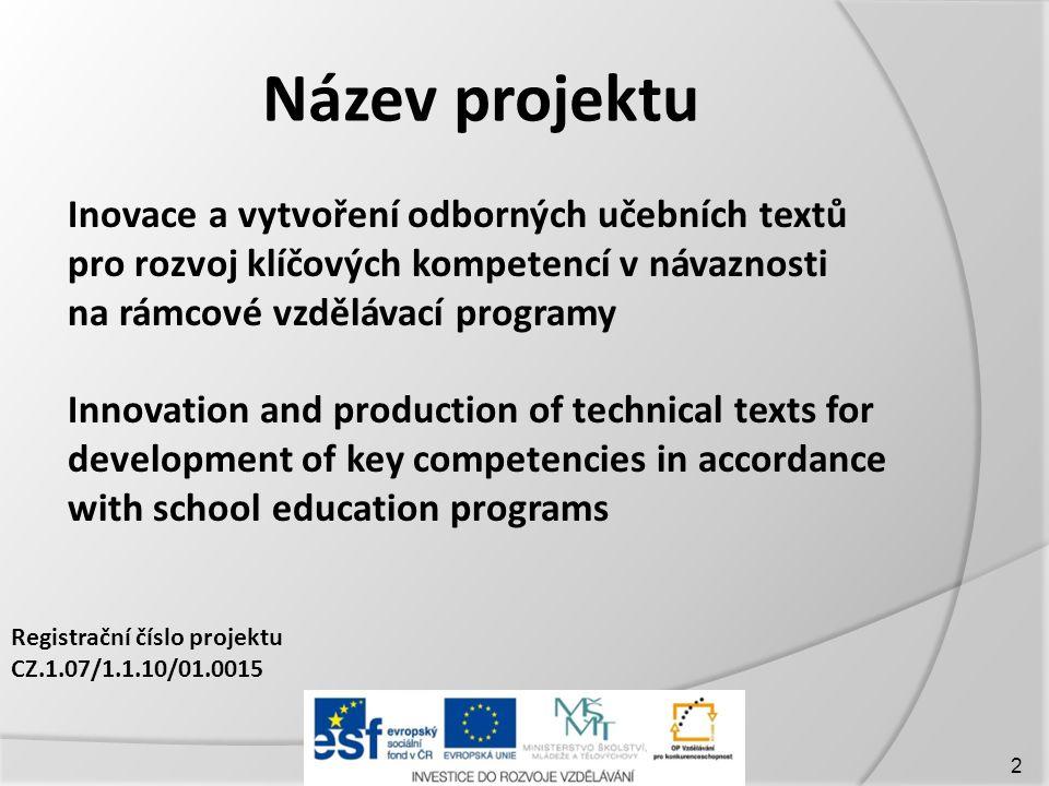 Název projektu