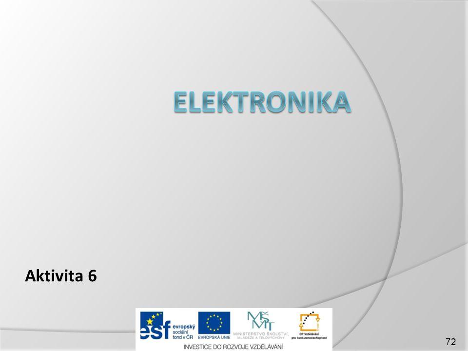elektronika Aktivita 6