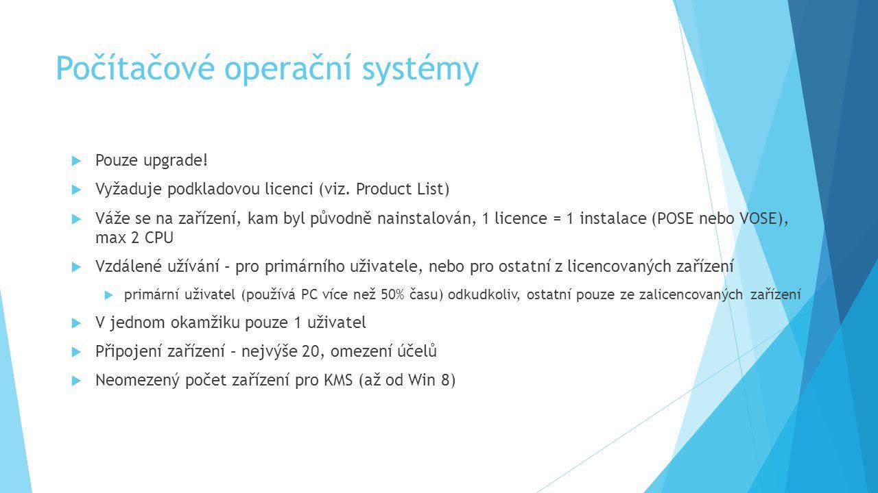 Počítačové operační systémy