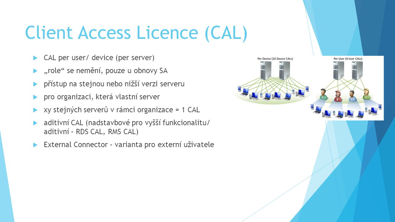 Client Access Licence (CAL)