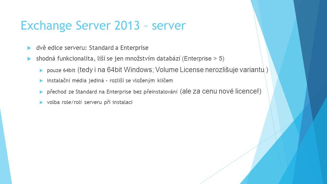 Exchange Server 2013 – server