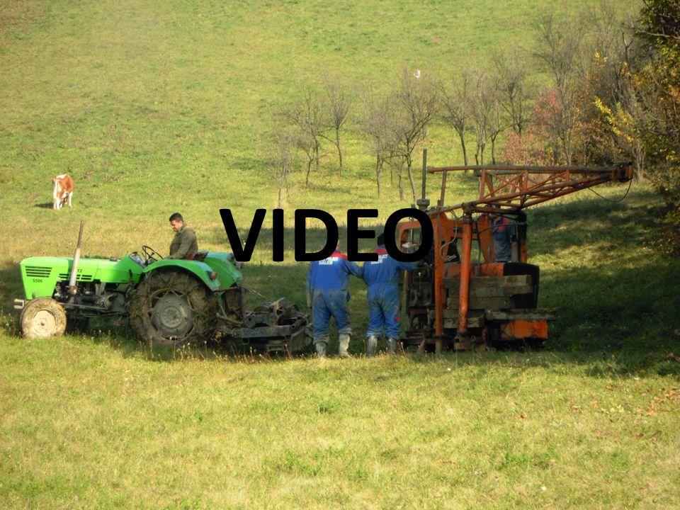VIDEO Průzkumné metody Přímá průzkumná díla: vrty kopané sondy