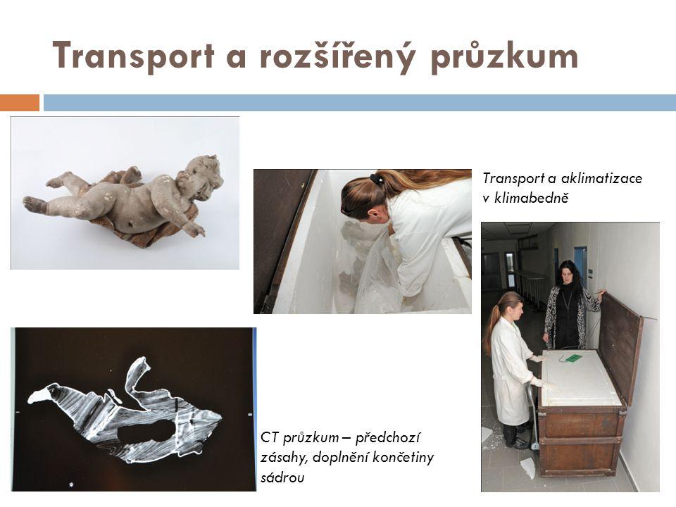 Transport a rozšířený průzkum
