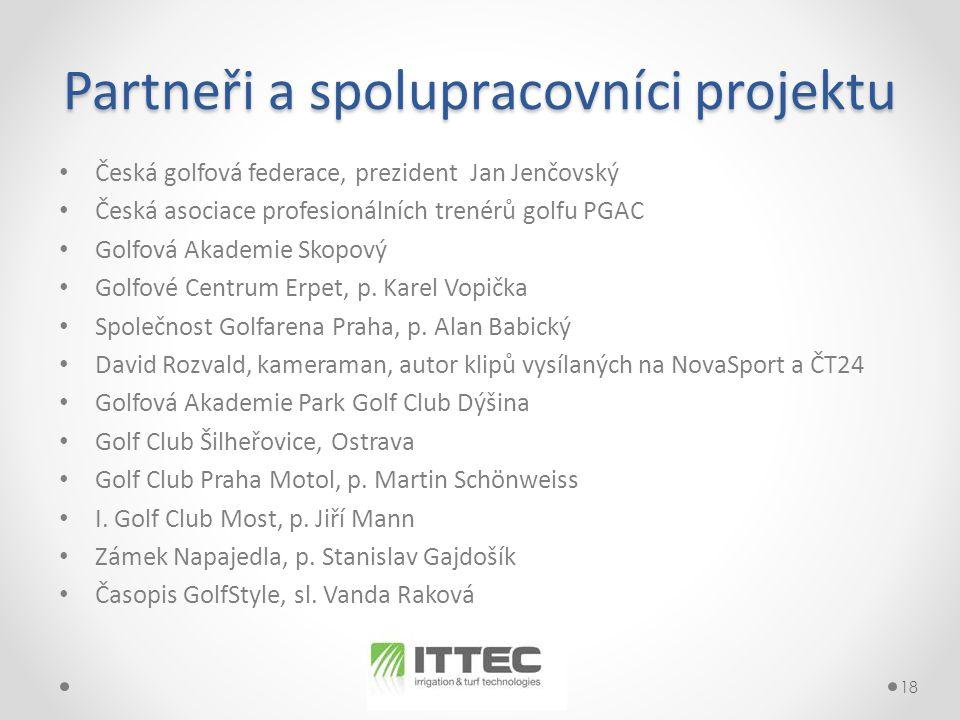 Partneři a spolupracovníci projektu