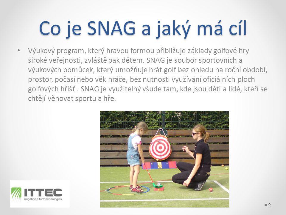 Co je SNAG a jaký má cíl