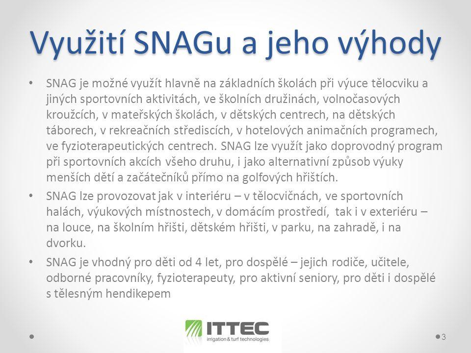 Využití SNAGu a jeho výhody