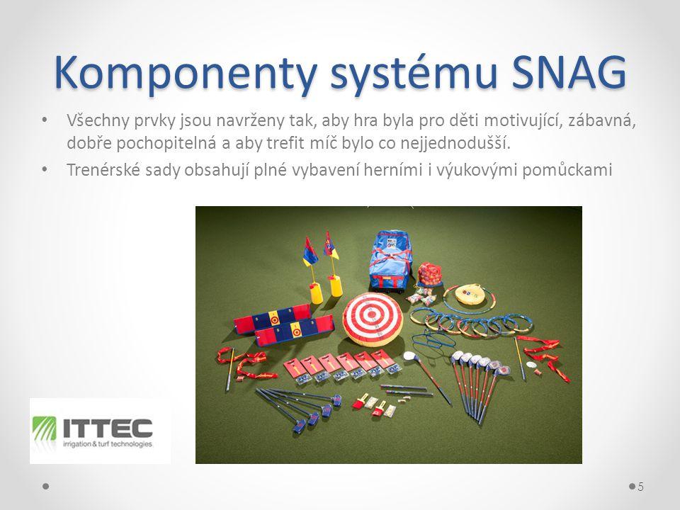 Komponenty systému SNAG