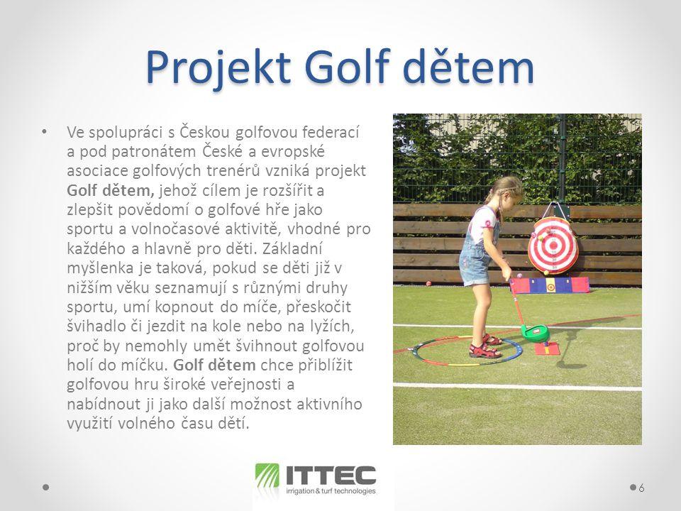 Projekt Golf dětem