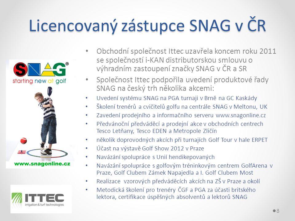 Licencovaný zástupce SNAG v ČR
