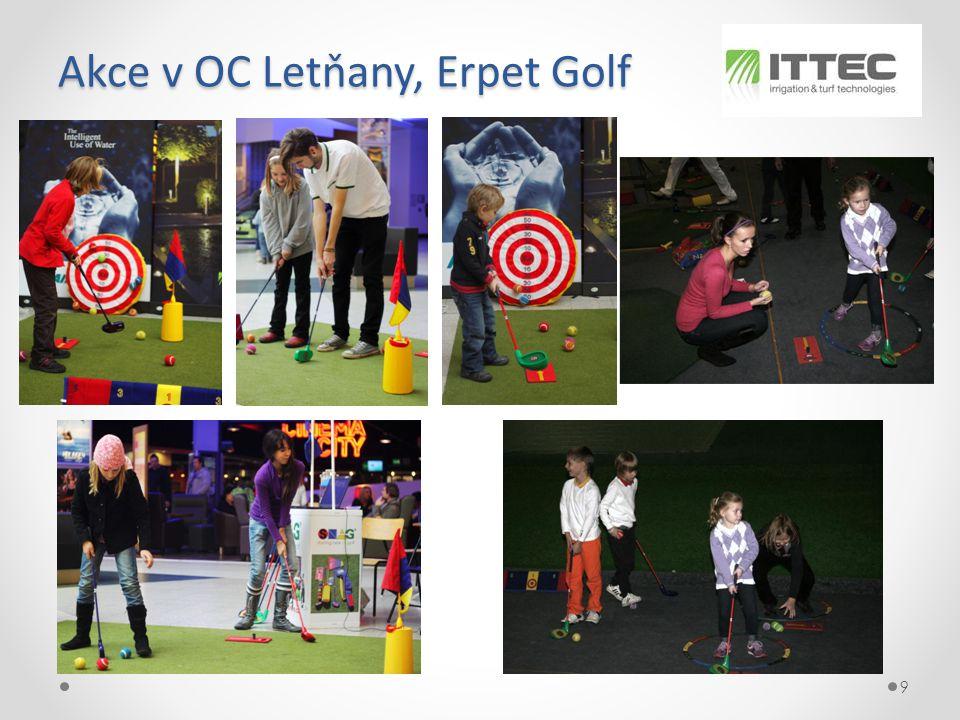 Akce v OC Letňany, Erpet Golf