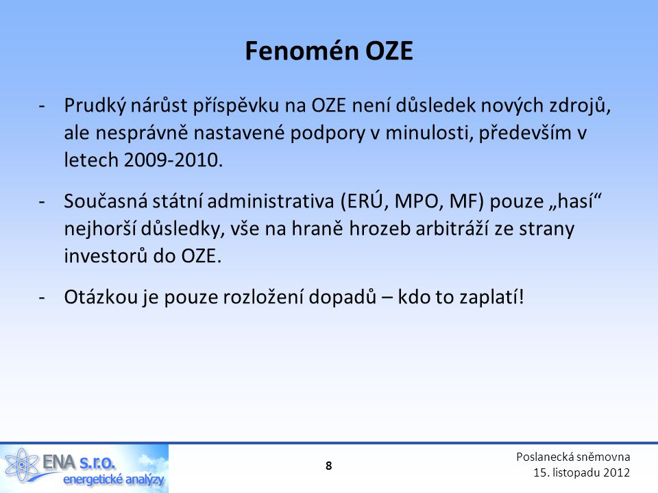 Fenomén OZE