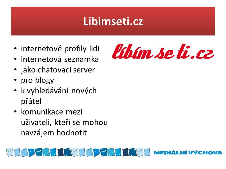 Libimseti.cz internetové profily lidí internetová seznamka