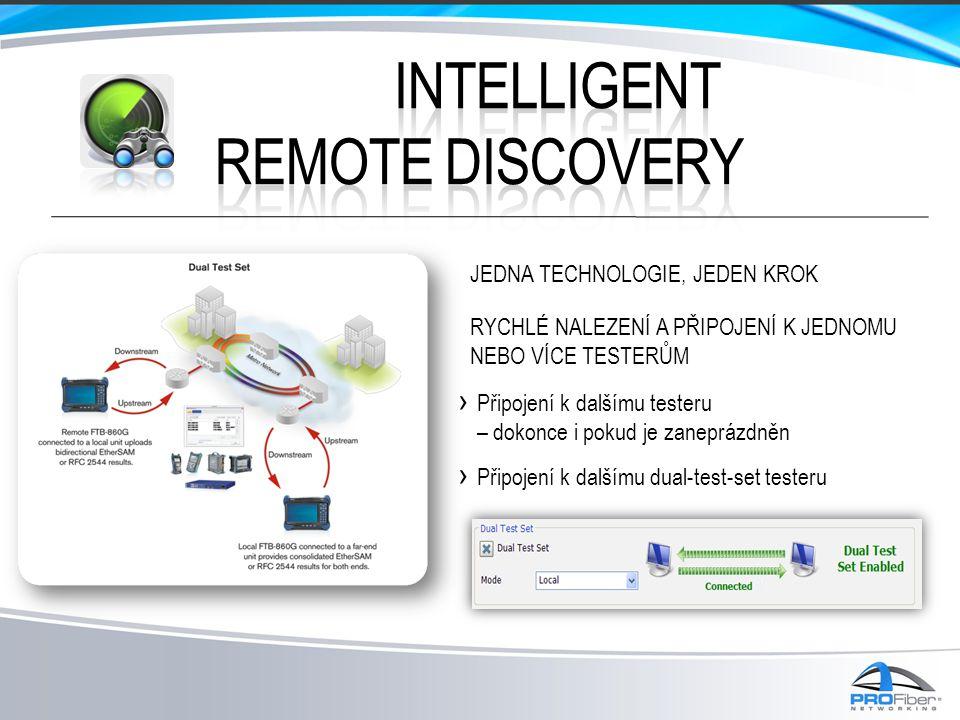 Intelligent REMOTE discovery Jedna technologie, Jeden krok