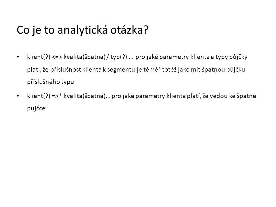 Co je to analytická otázka