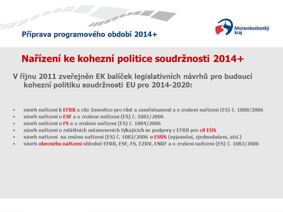 Nařízení ke kohezní politice soudržnosti 2014+