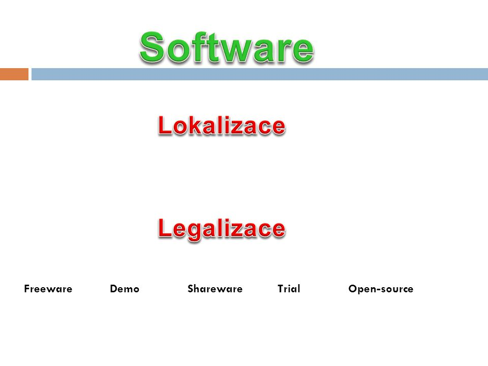 Software Lokalizace Legalizace