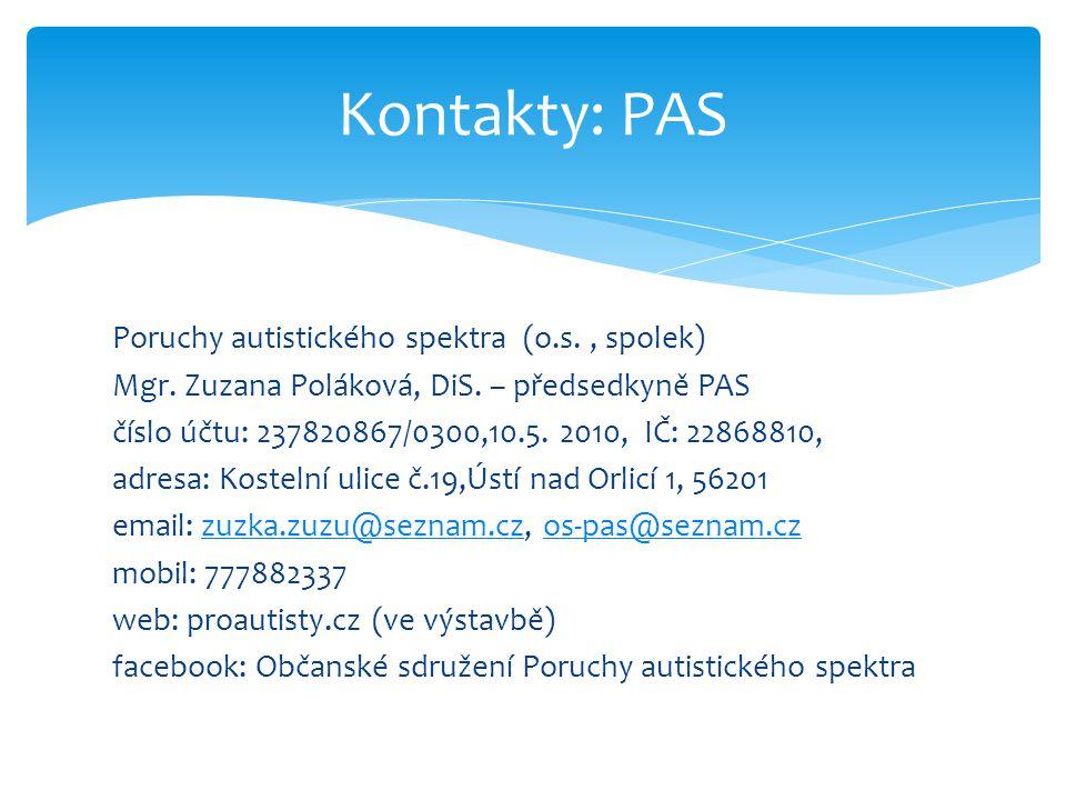 Kontakty: PAS