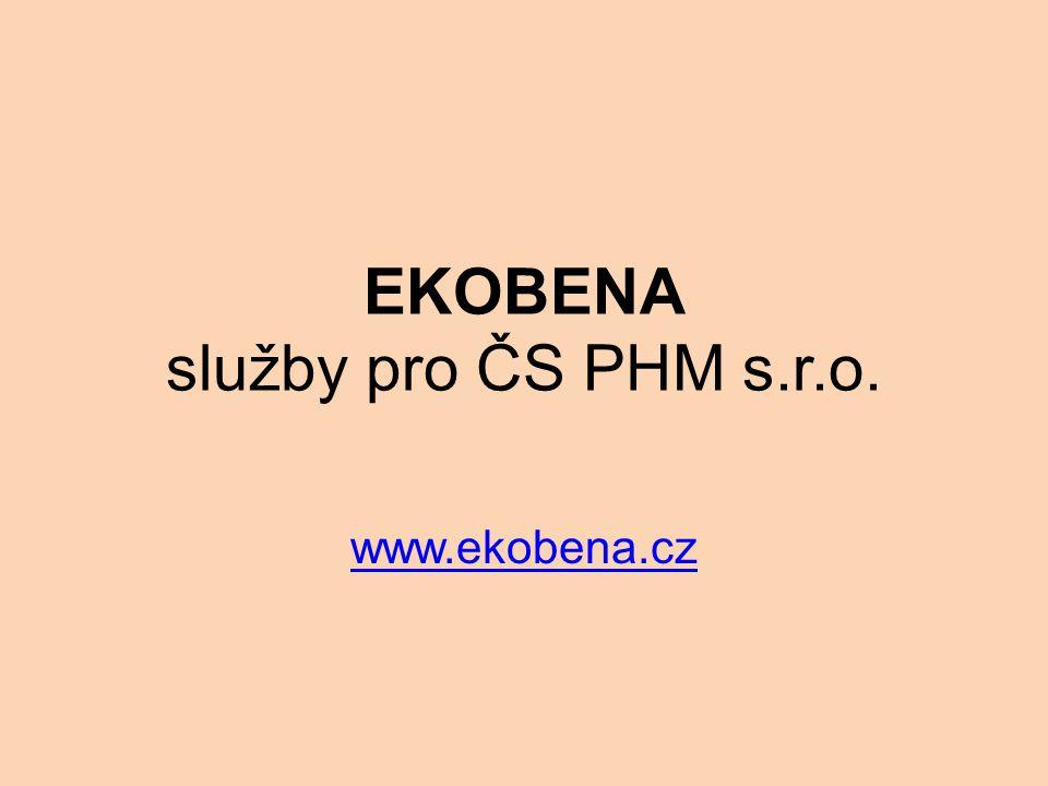 EKOBENA služby pro ČS PHM s.r.o.