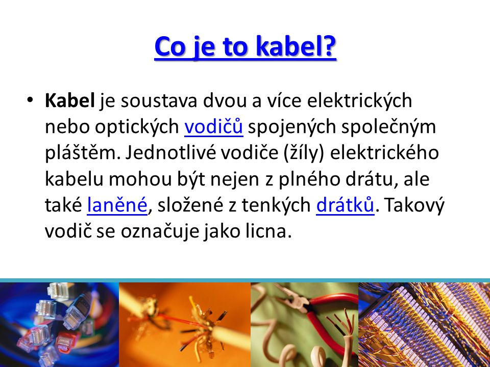 Co je to kabel