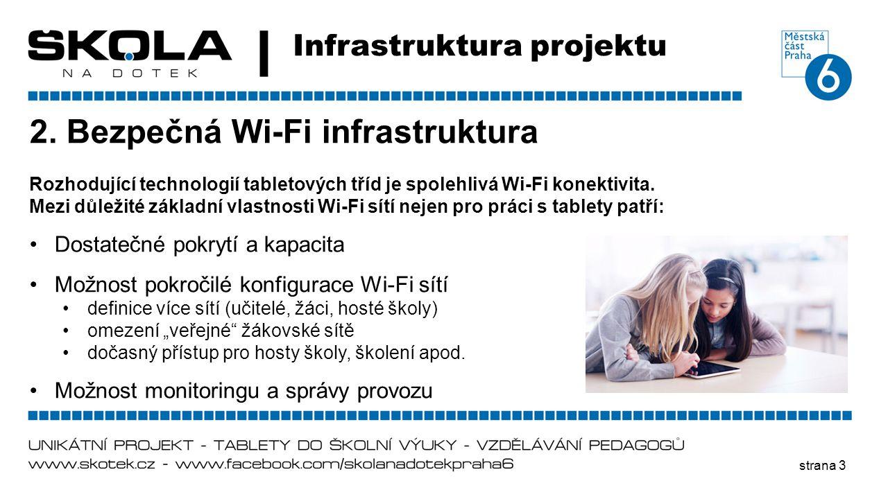 2. Bezpečná Wi-Fi infrastruktura