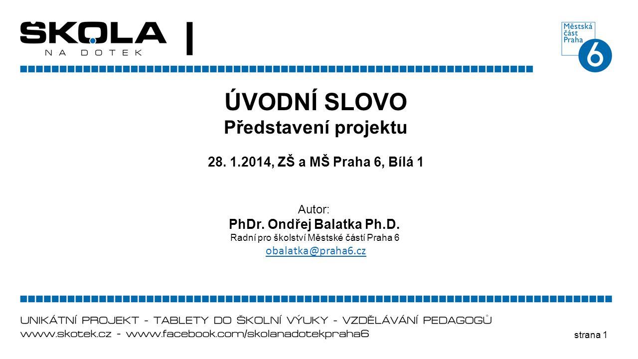 PhDr. Ondřej Balatka Ph.D.