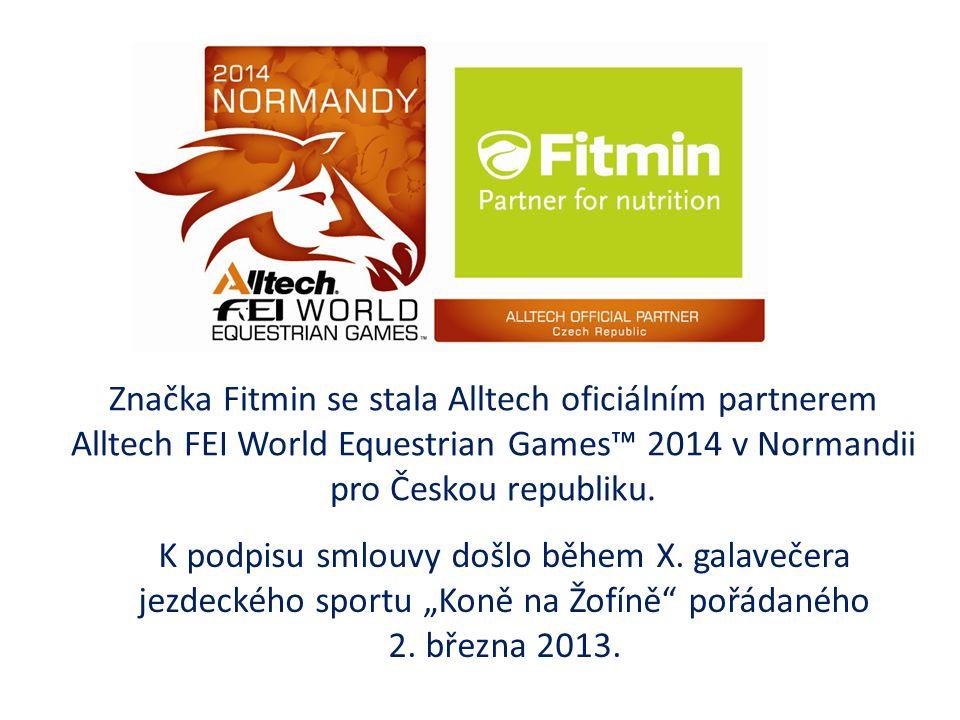 Značka Fitmin se stala Alltech oficiálním partnerem Alltech FEI World Equestrian Games™ 2014 v Normandii pro Českou republiku.