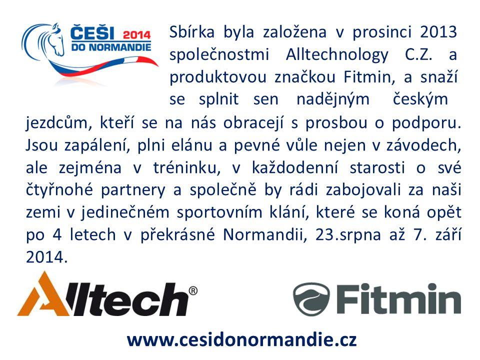 Sbírka byla založena v prosinci 2013 společnostmi Alltechnology C. Z