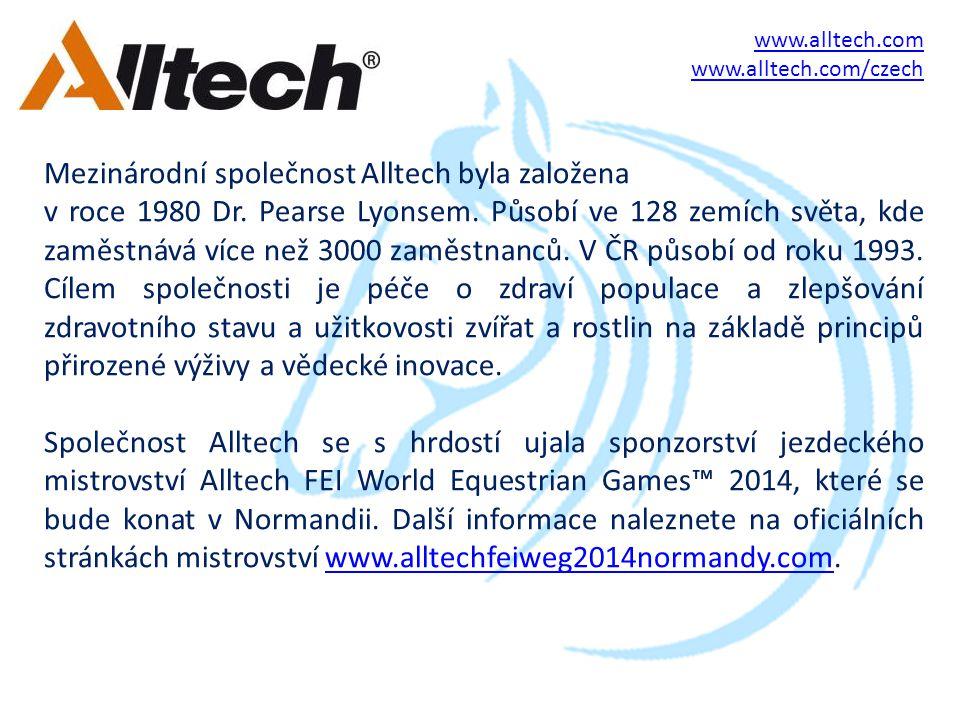 Mezinárodní společnost Alltech byla založena