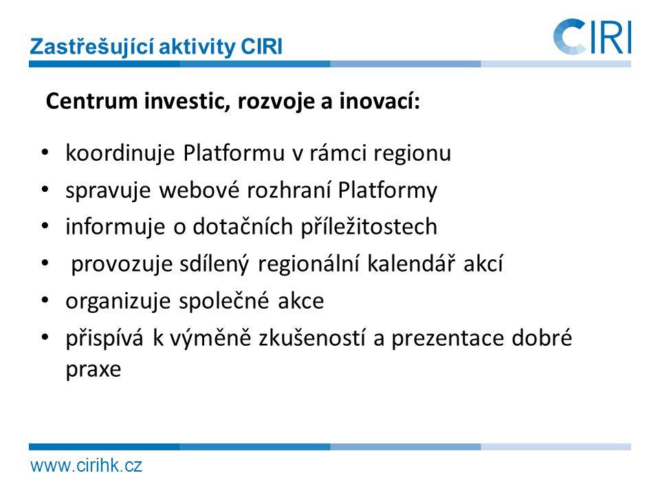 Centrum investic, rozvoje a inovací:
