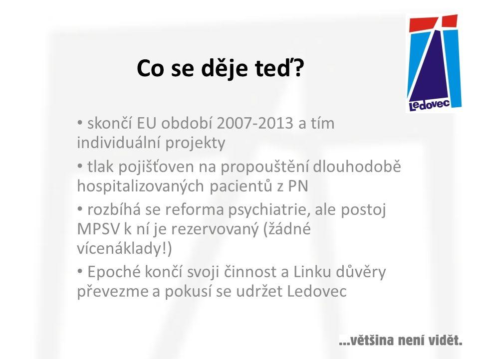 Co se děje teď skončí EU období 2007-2013 a tím individuální projekty
