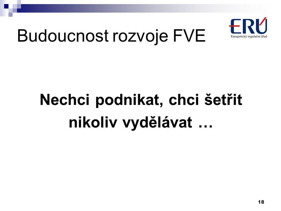 Budoucnost rozvoje FVE