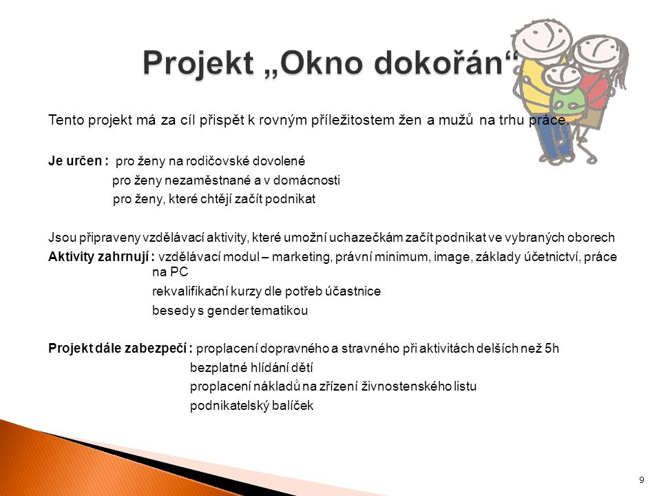 """Projekt """"Okno dokořán"""