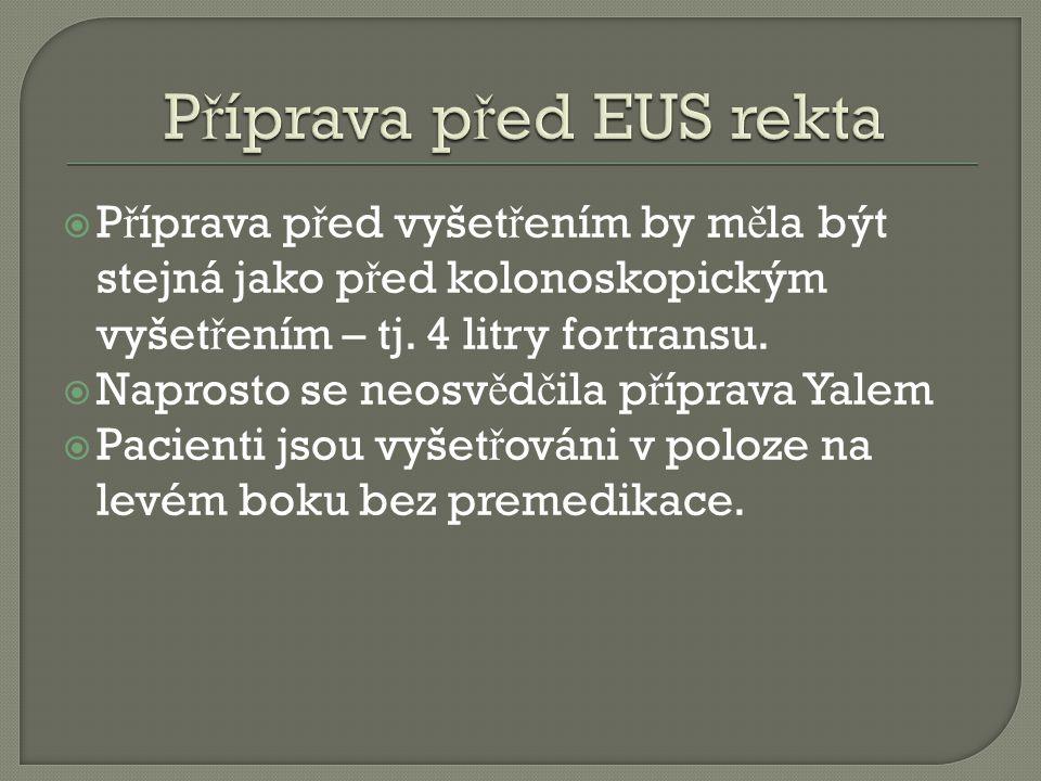 Příprava před EUS rekta