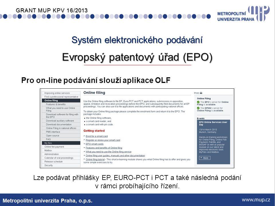 Systém elektronického podávání