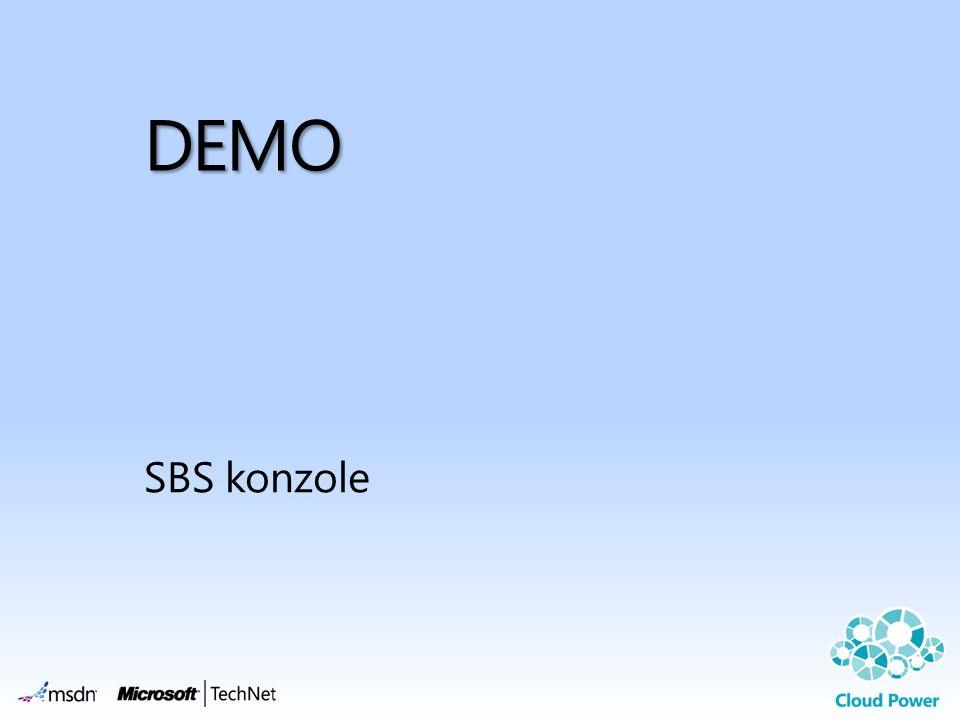 DEMO SBS konzole