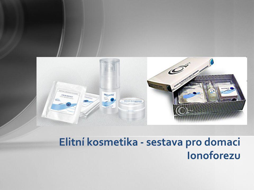 Elitní kosmetika - sestava pro domaci Ionoforezu