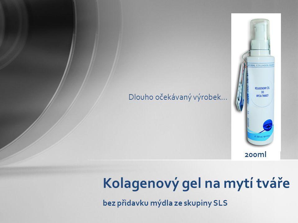Kolagenový gel na mytí tváře bez přidavku mýdla ze skupiny SLS
