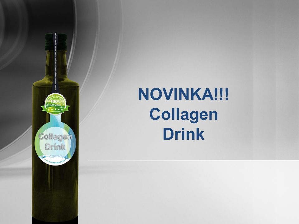 NOVINKA!!! Collagen Drink