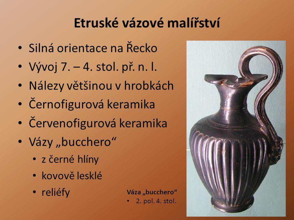 Etruské vázové malířství