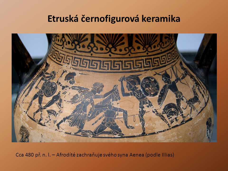 Etruská černofigurová keramika