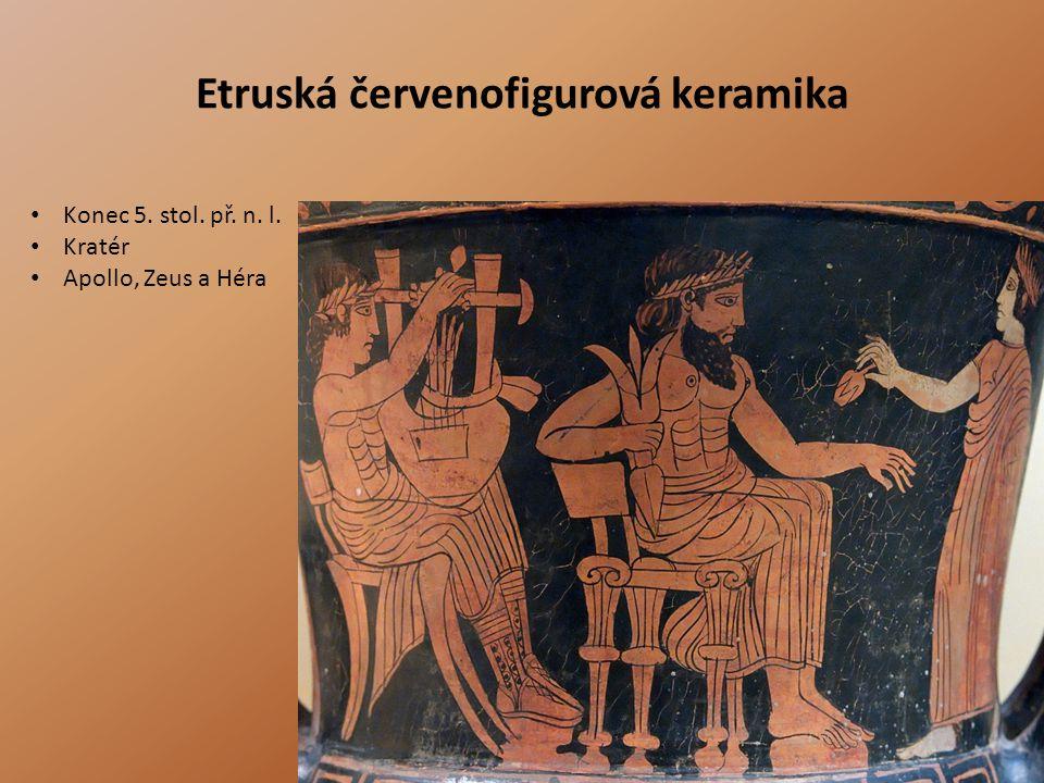 Etruská červenofigurová keramika