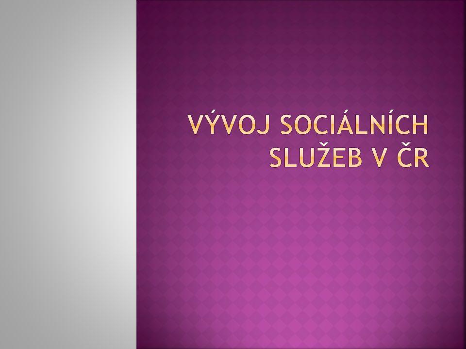 Vývoj sociálních služeb v ČR